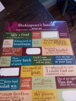 Stickers med Shakespearecitat